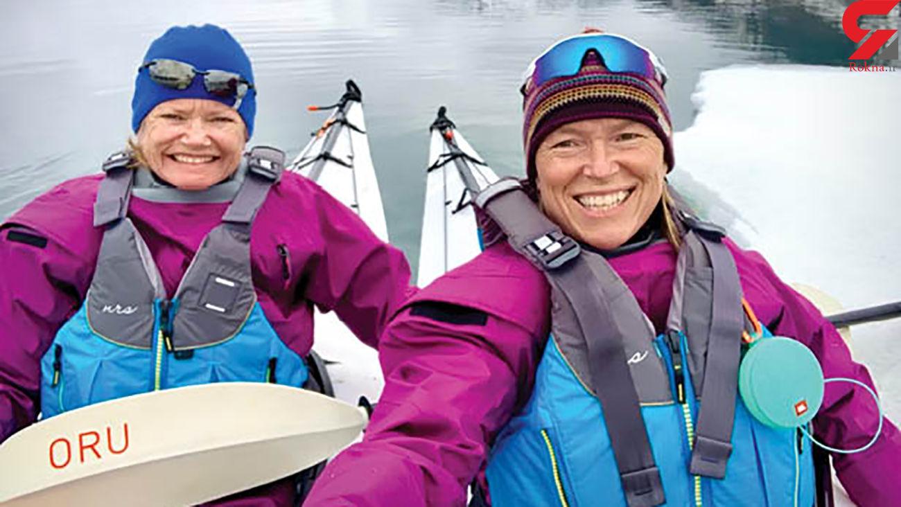 2 زن تنها، یک سال در قطب شمال! + عکس