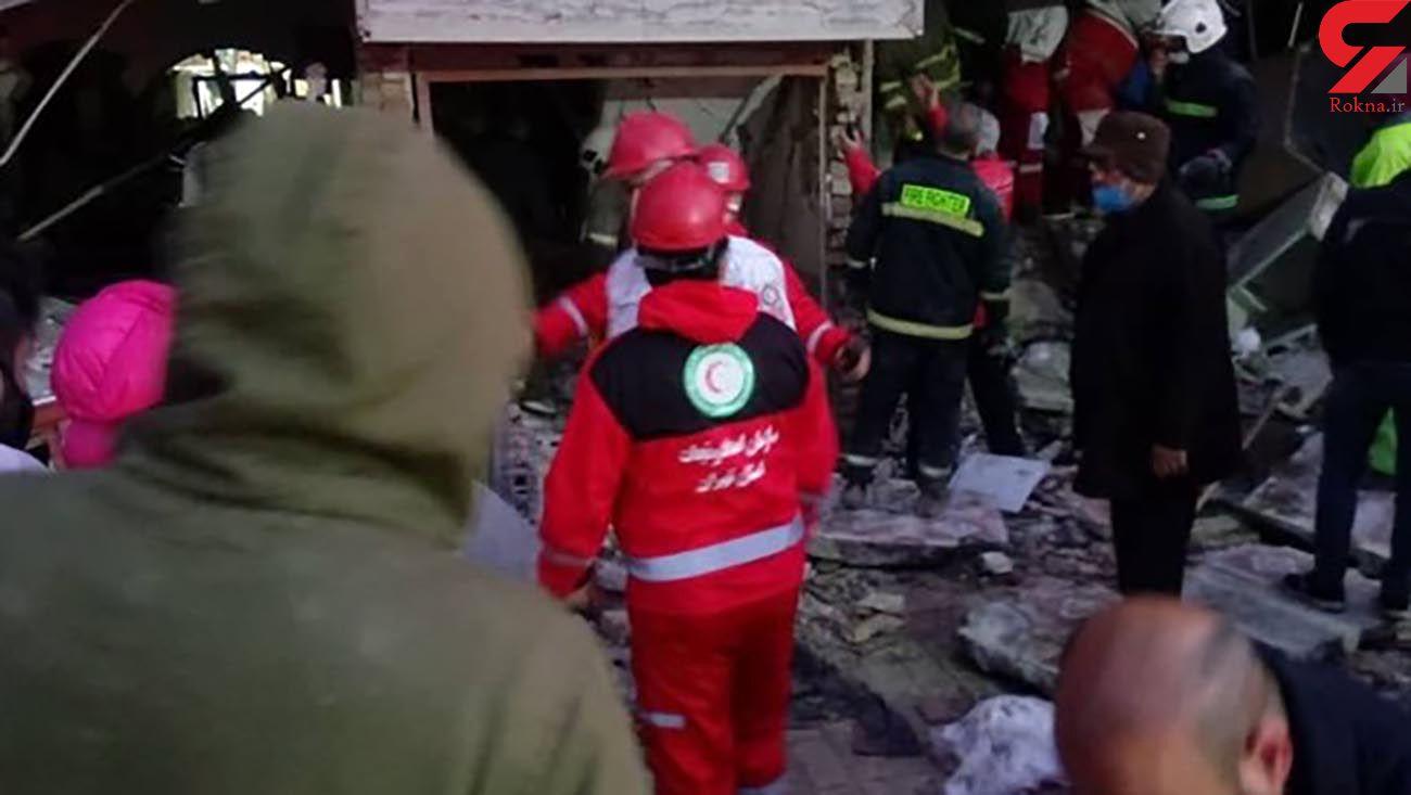 2 کشته در انفجار بزرگ شرق تهران / بامداد امروز  رخ داد + عکس