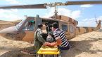 پرواز اورژانس هوایی قزوین برای نجات یک بیمار