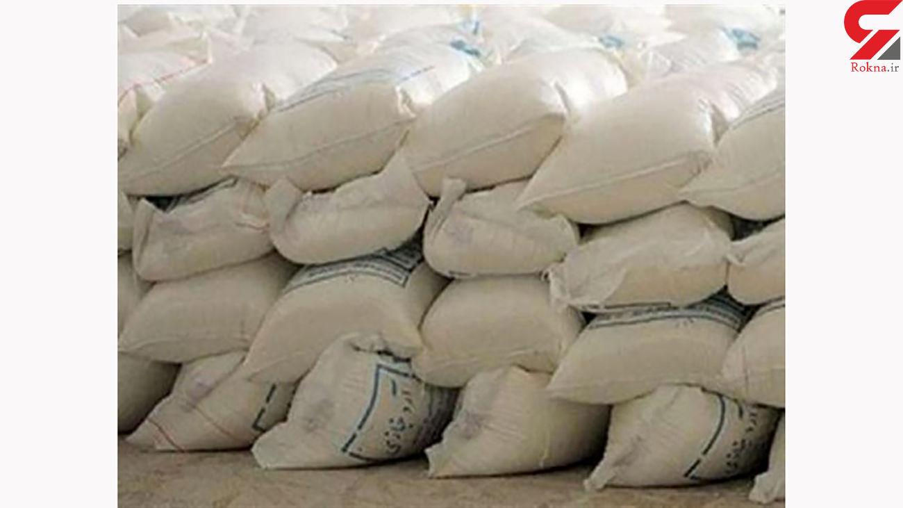 کشف 400 کیسه آرد قاچاق در بروجرد