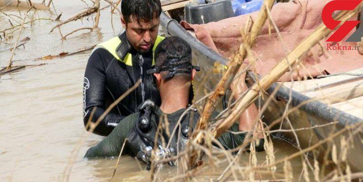 نجات روستای بیوض خوزستان از اعماق آب+ تصاویر