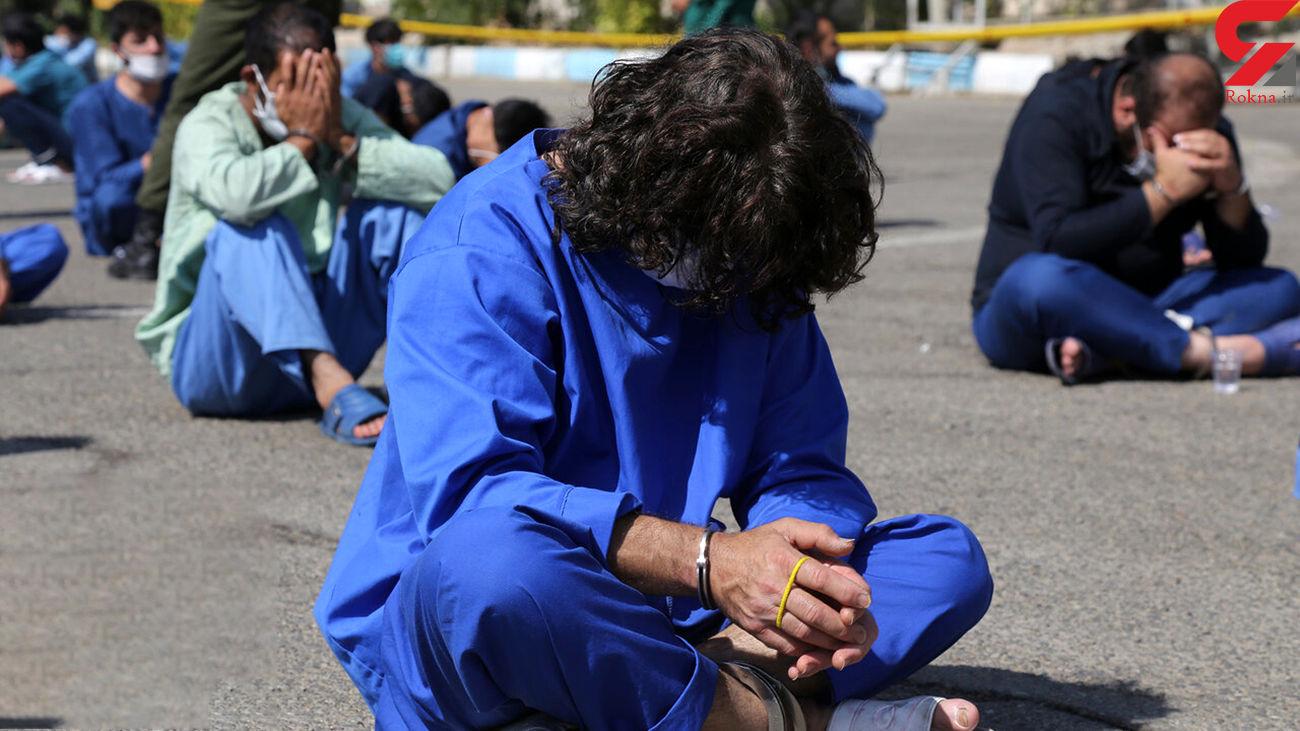 دستگیری سارق حرفهای منازل نیمه کاره در مهران