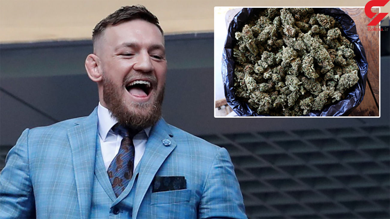 اعتیاد قهرمان UFC به ماریجوانا + فیلم