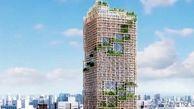 تا سال 2041این برج 350 متری چوبی در ژاپن ساخته می شود