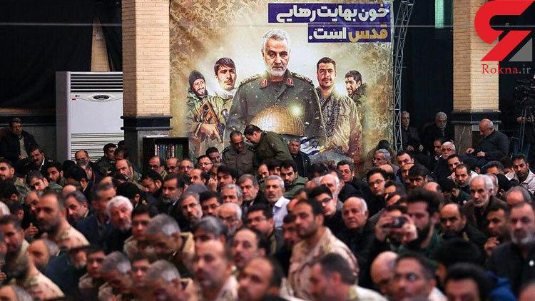 بزرگداشت سپهبد شهید قاسم سلیمانی و دیگر شهدای مقاومت در تهران برگزار شد