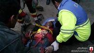 سقوط مرگبار کارگر به چاه ۳۰ متری + تصاویر