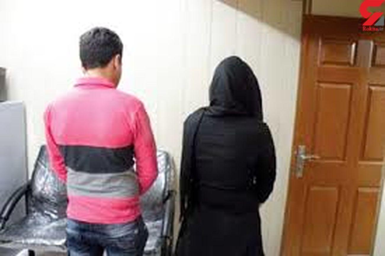 ساناز با دوست خیابانی اش کیف قاپی می کرد / در تهران لو رفت
