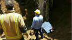 فوت ۴ کارگر در حادثه گودبرداری در خیابان نیاوران + عکس