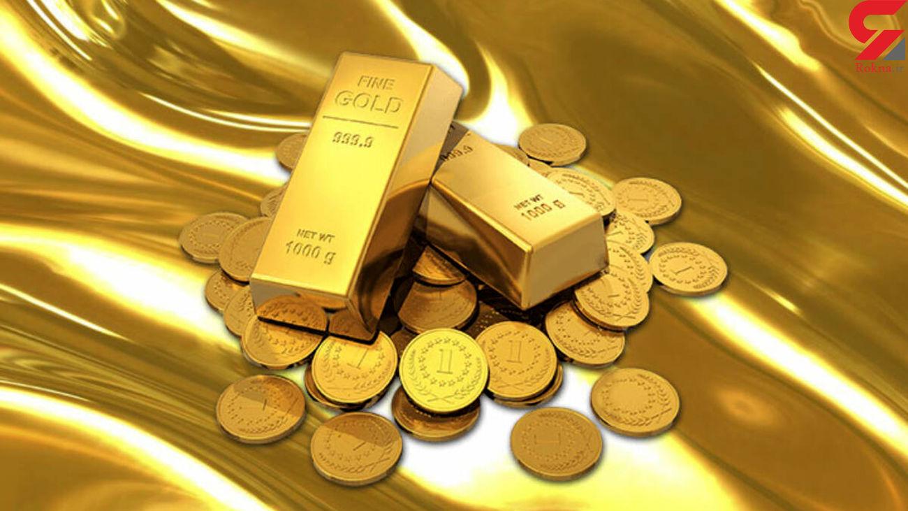 قیمت جهانی طلا امروز جمعه 14 آذر 99