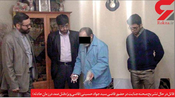 قاتل دختر خاله متاهل در مشهد قصاص شد/ صحنه سازی هم جواب نداد +عکس بازسازی صحنه