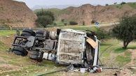 تصادف مرگبار کامیون با سواری در گناباد/ یک نفر در دم جان باخت