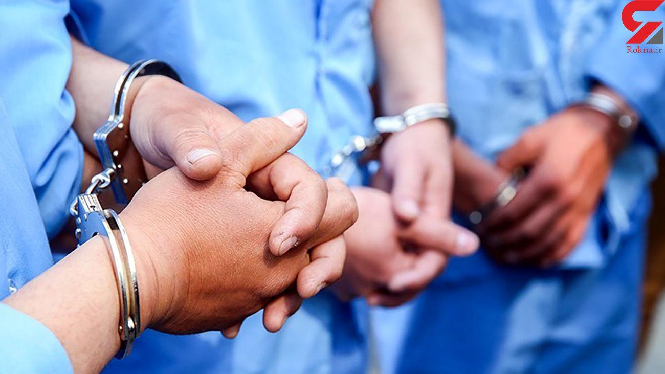 دستگیری ۱۱ نفر سارق در طرح رعد پلیس قم