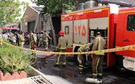 آتش سوزی گسترده در تهرانپارس +تصاویر