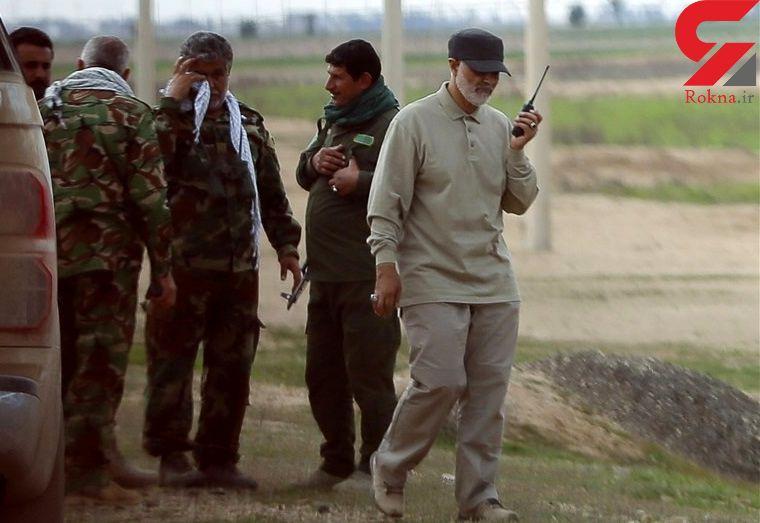 دلیل اتیکت نداشتن سردار سلیمانی روی لباسش چیست؟ / وحشت تروریست ها از شهید زنده+عکس