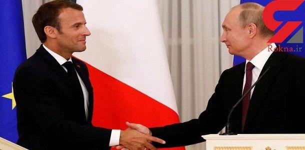 مذاکره پوتین و ماکرون بر سر بازسازی زیرساختهای اجتماعی و اقتصادی سوریه