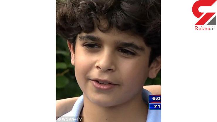 فیلم / اقدام حیرت انگیز پسر 9 ساله برای نجات جان یک نوزاد