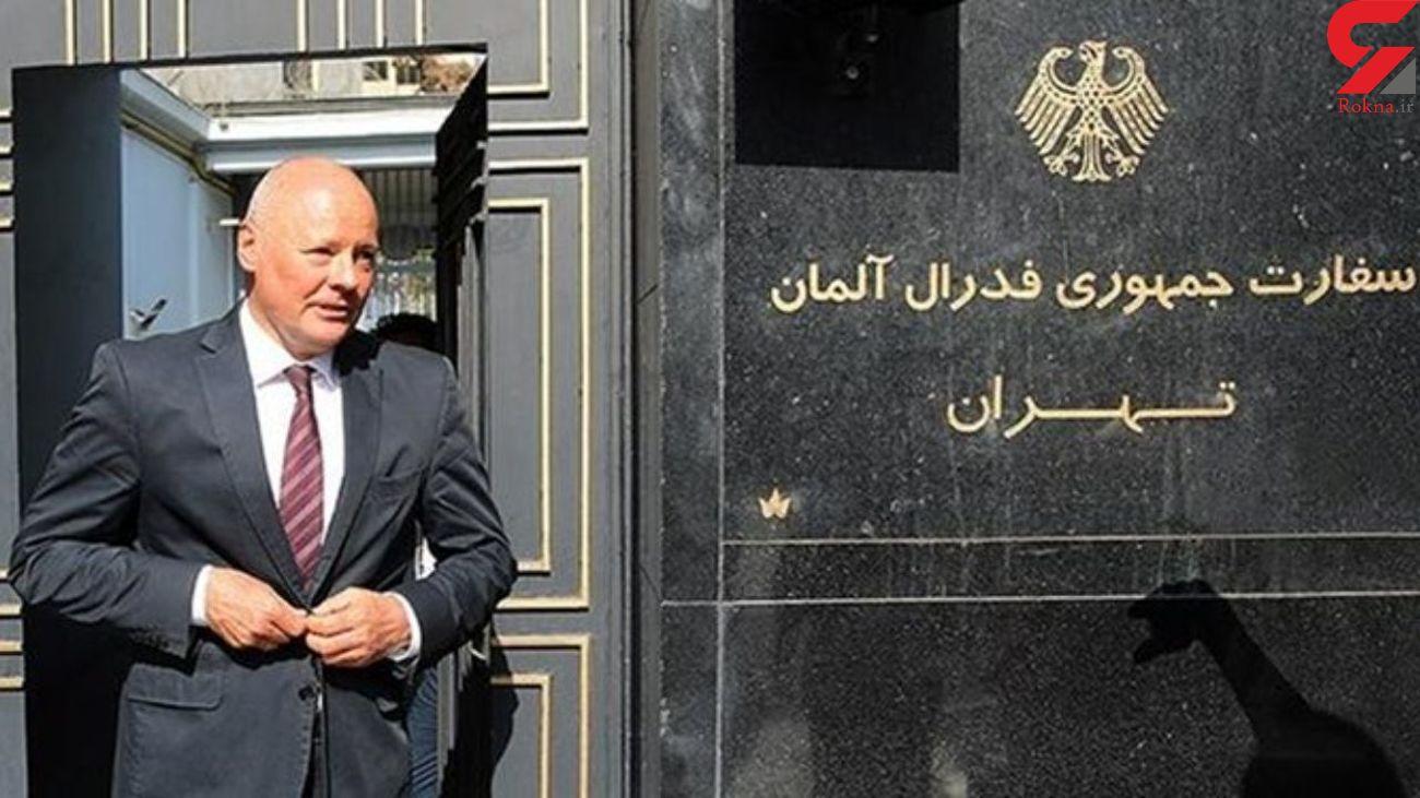 سفیر آلمان در ایران زودتر از موعد مقرر استعفا کرد