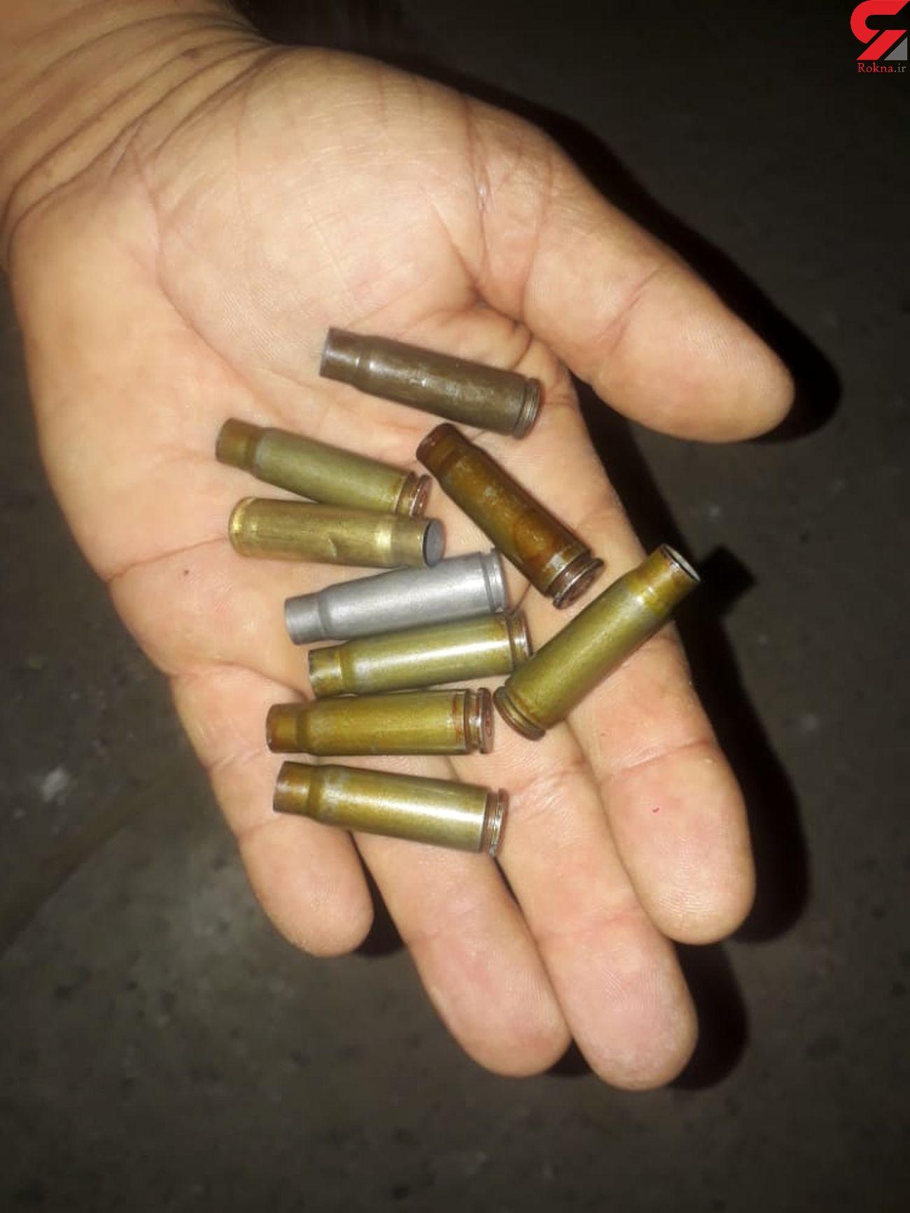 سرقت مسلحانه کابل برق در خرمشهر  / برق منطقه قطع شد + عکس تیرخوردن یک مرد