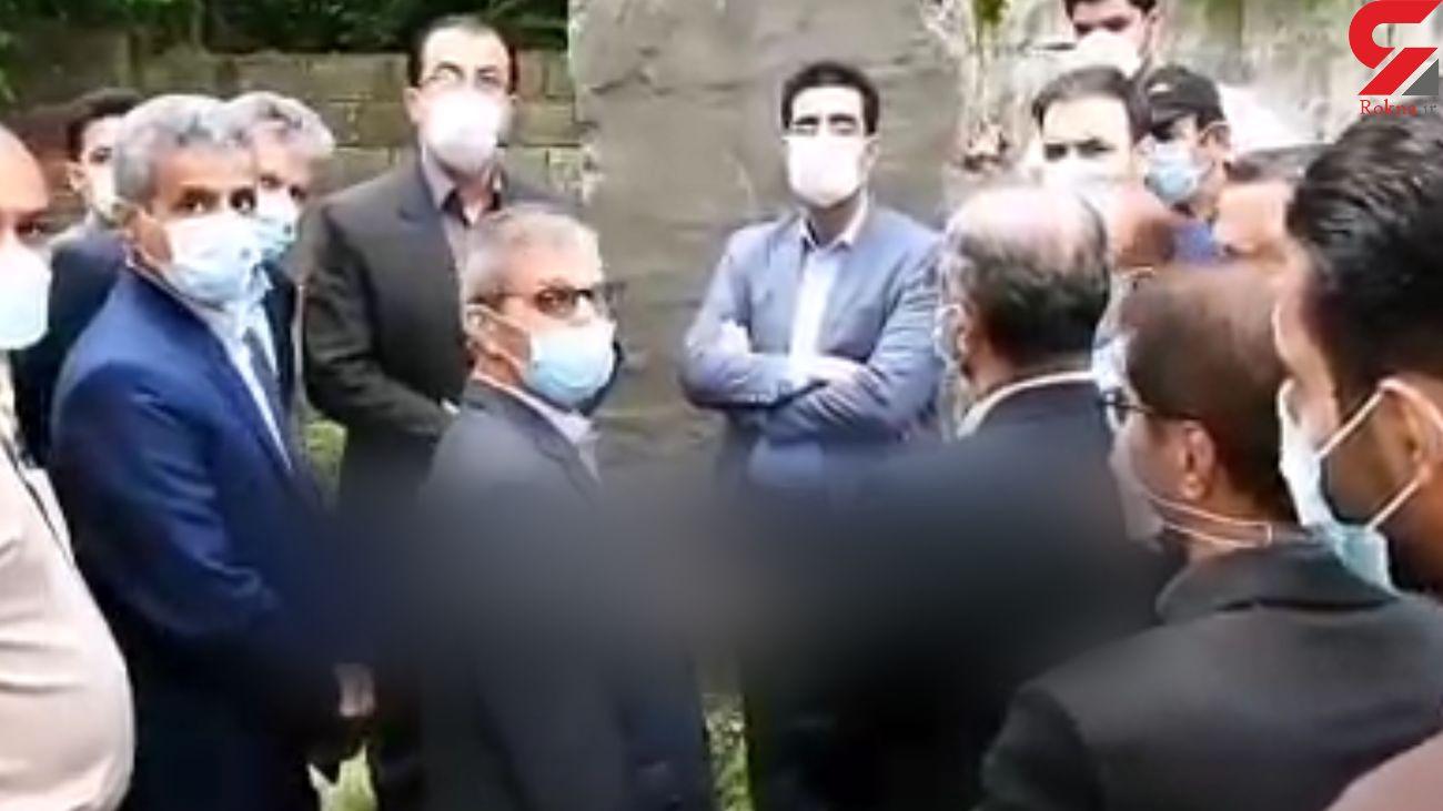 فیلم حمله به دوربین خبرنگار با دستور فرماندار لاهیجان