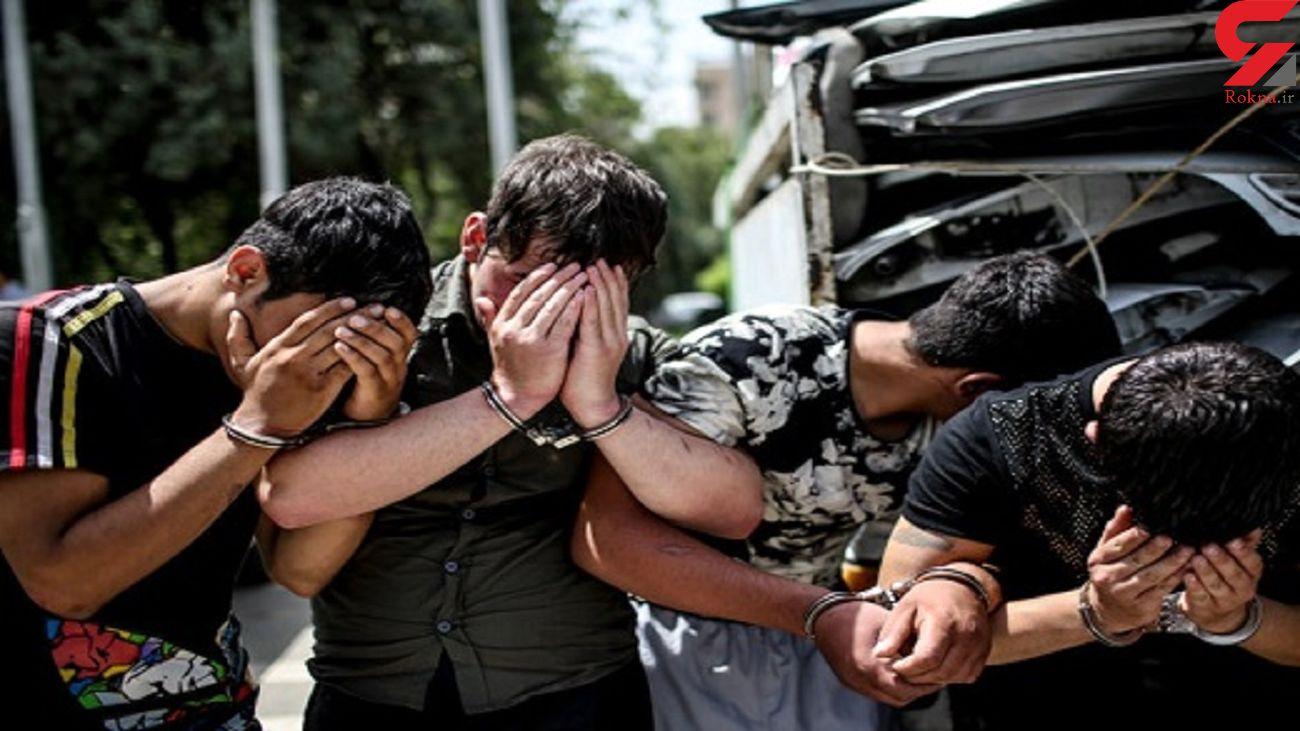 انهدام باند سارقان اماکن خصوصی در آغاجاری/ 4 سارق دستگیر شدند