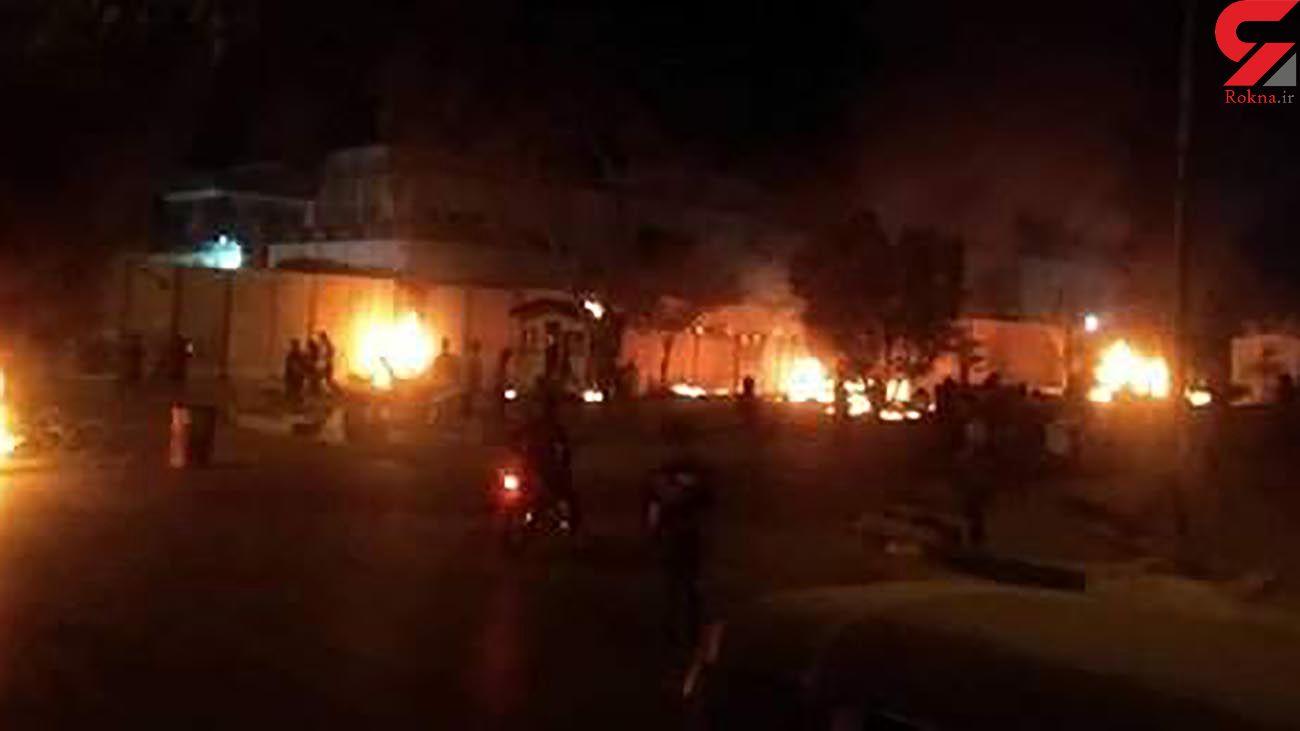 پشت پرده حمله به کنسولگری ایران در کربلا چه کسانی بودند؟ + عکس