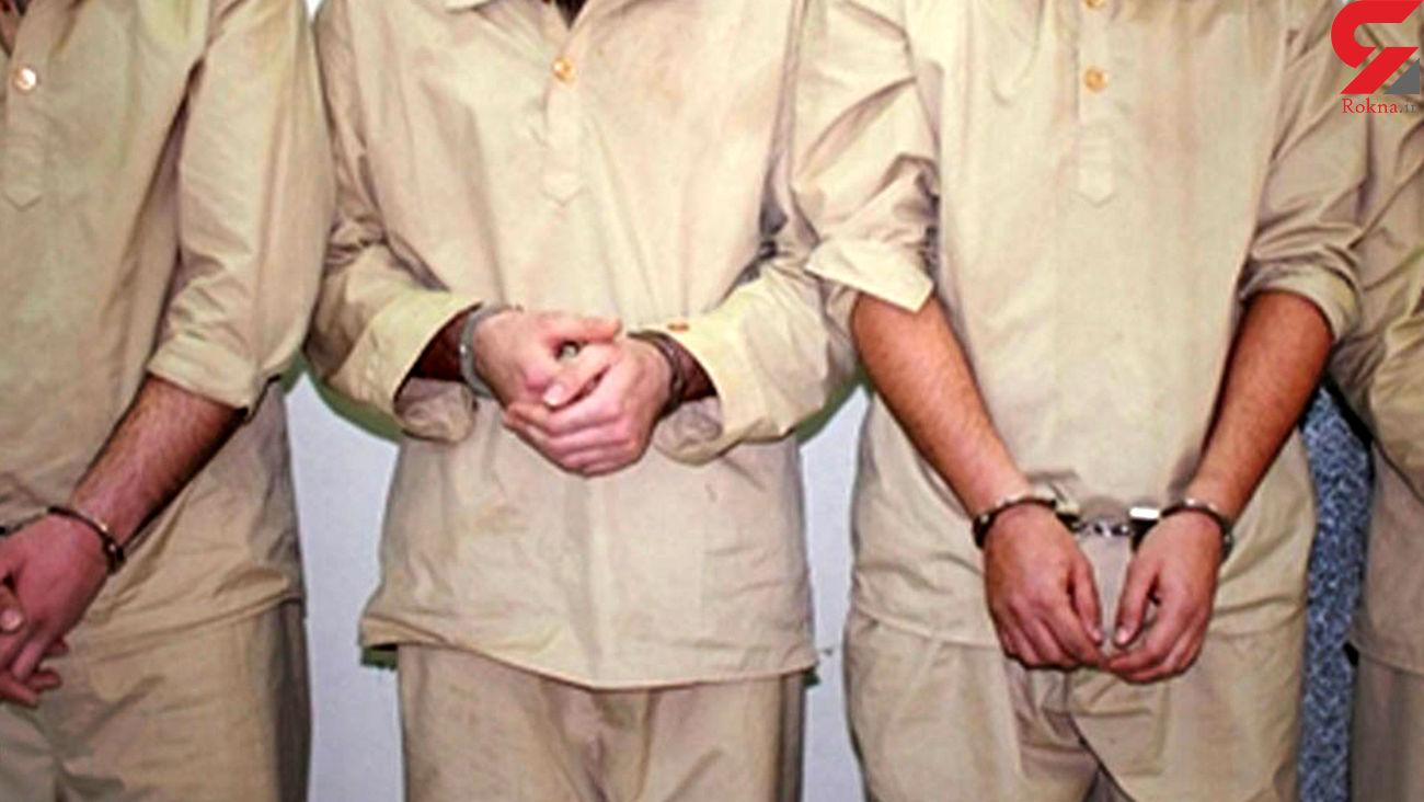 دستگیری اعضای باند 5 نفره سارقان سیم و کابل برق شهری