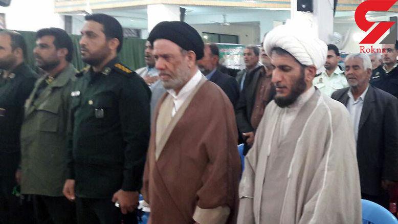 مراسم تجلیل از دو دهه خدمات امام جمعه سابق آبدان