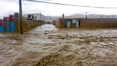 روستای دشت آزادگان زیر آب رفت / فرماندار چه گفت ؟