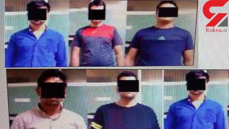 باند چراغ قرمز در مشهد چه می کردند؟+ عکس