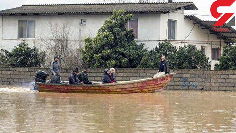 گزارش تکاندهنده تصویری از مناطق سیل زده + عکس و فیلم
