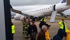 حادثه وحشتناک در باند فرودگاه/ +عکس