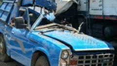برخورد نیسان و کامیون با یک کشته و 2 مجروح در فارس