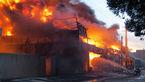 آتش سوزی در انبار کالای شورآباد/حادثه تلفات جانی نداشت