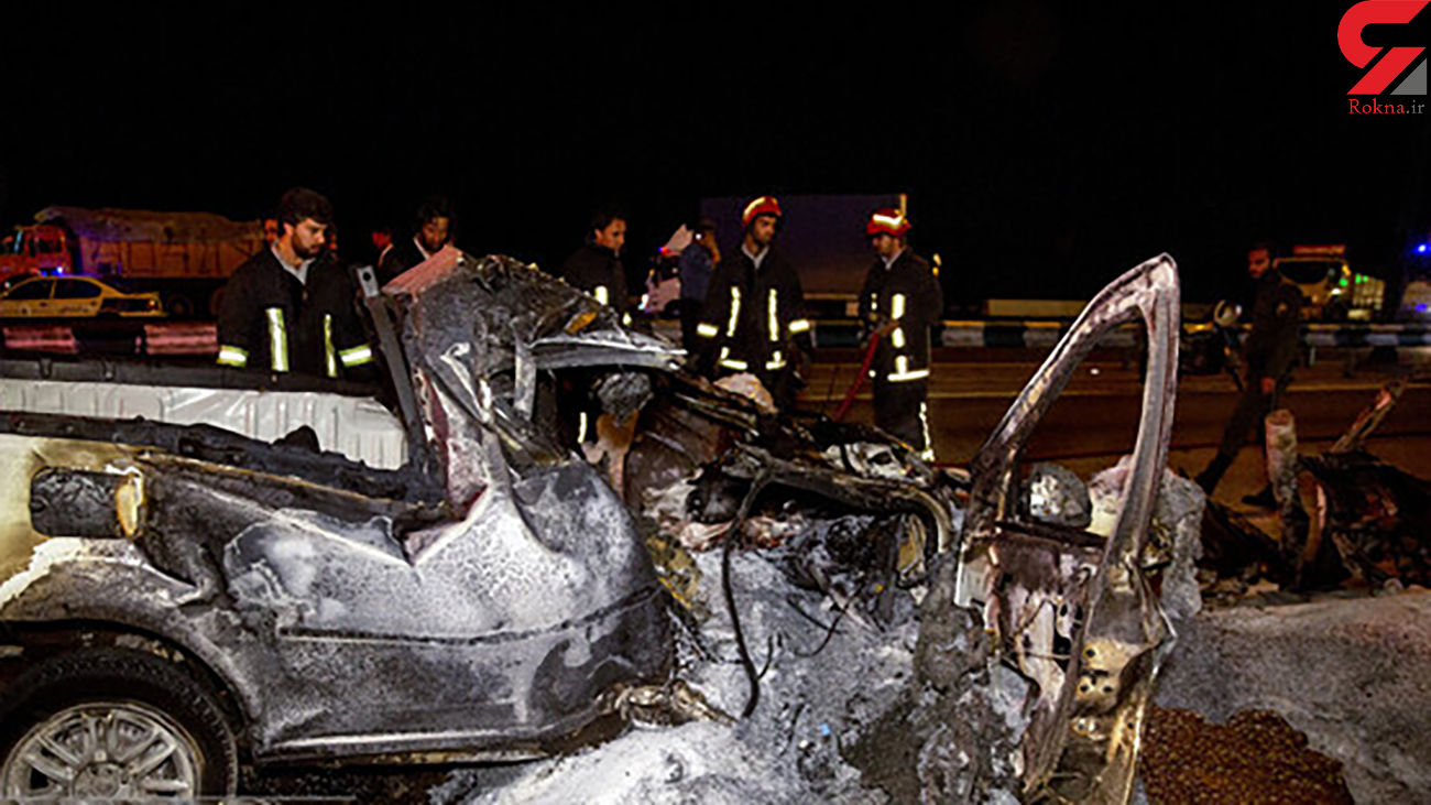 رکورد تصادف های تهران در این منطقه