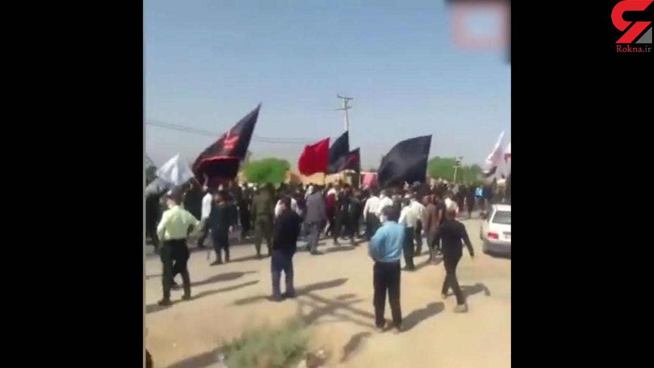 تجمع زائران حسینی در شلمچه پایان یافت + فیلم