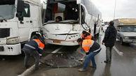 تصادف در زنجان یک کشته و ۲ مصدوم برجا گذاشت