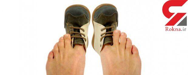 سایز کردن کفش تنگ با راهکارهای جادویی و عجیب