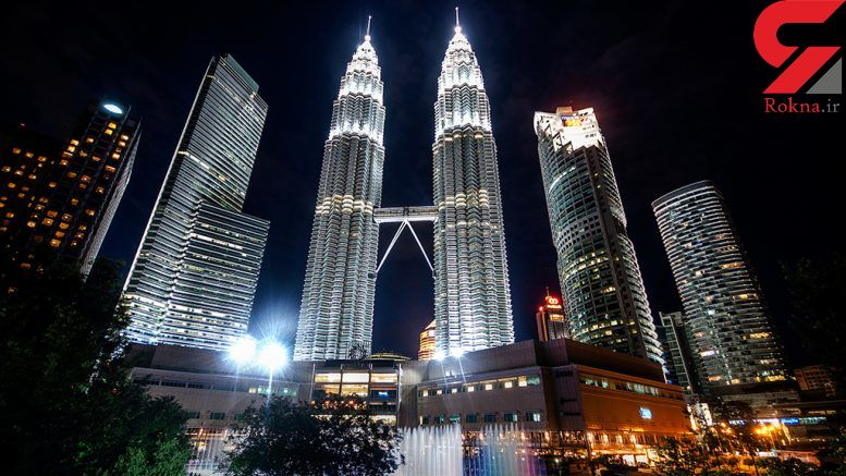 زیباترین برجهای دوقلوی پتروناس در کوالالامپور