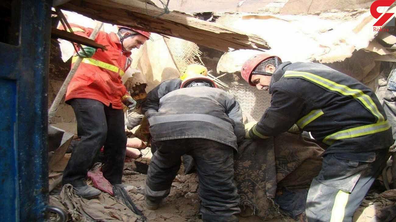 3 مصدوم بر اثر سقوط میلگرد ساختمان نیمه کاره در کرج
