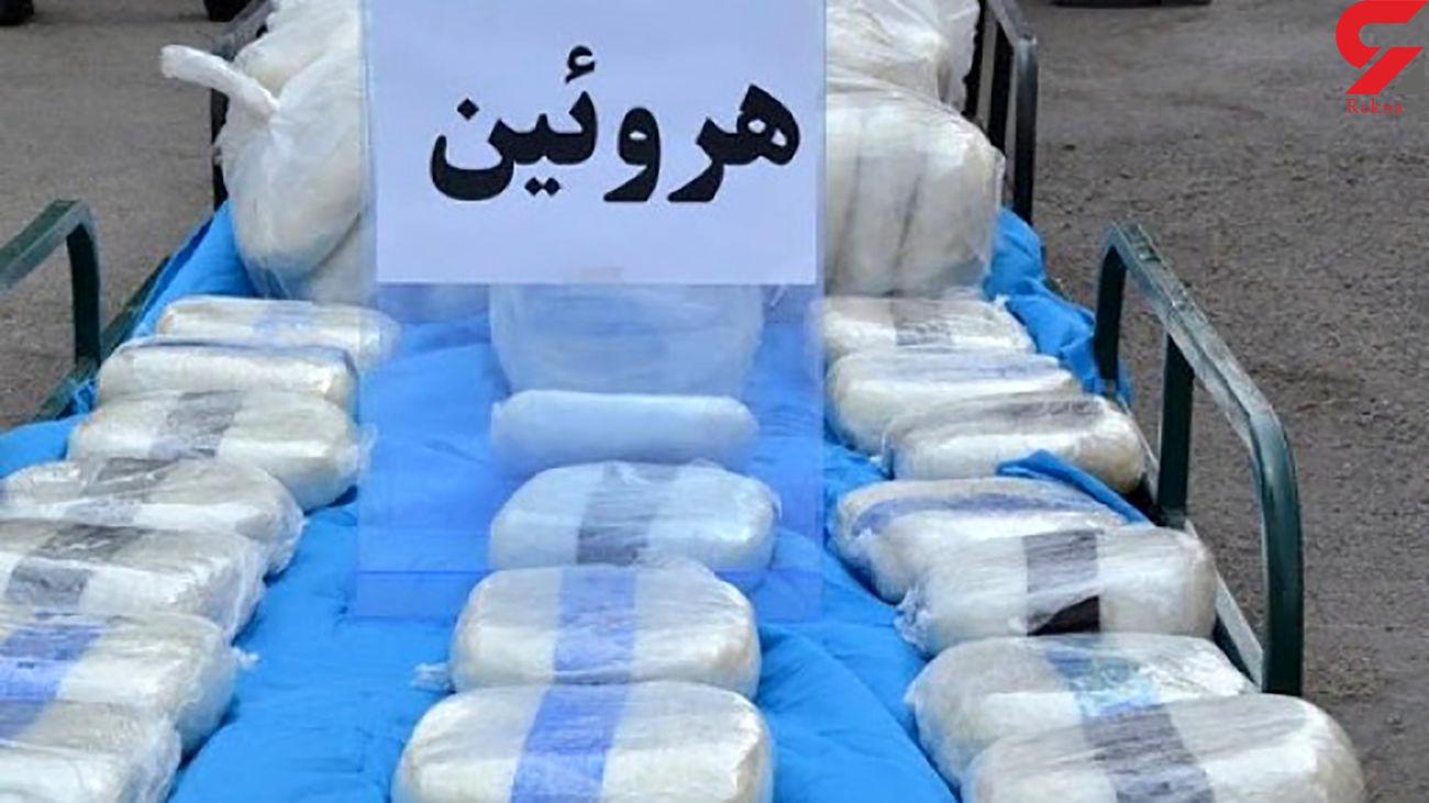 بازداشت 6 قاچاقچی مواد مخدر با 154 کیلو هروئین در پردیس