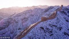 سفید پوش شدن دیوار چین +تصاویر