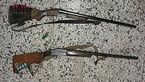 کشف ۵ قبضه سلاح شکاری غیرمجاز در بروجن