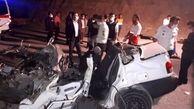 مرگ تلخ 5 مسافر خوزستانی در مسیر گچساران / پراید آهن پاره شد !+ عکس