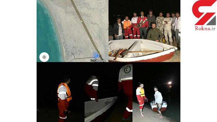 نجات ۹ شهروند بوشهری از مرگ با کمک گرفتن اپلیکشین واتساپ+ عکس