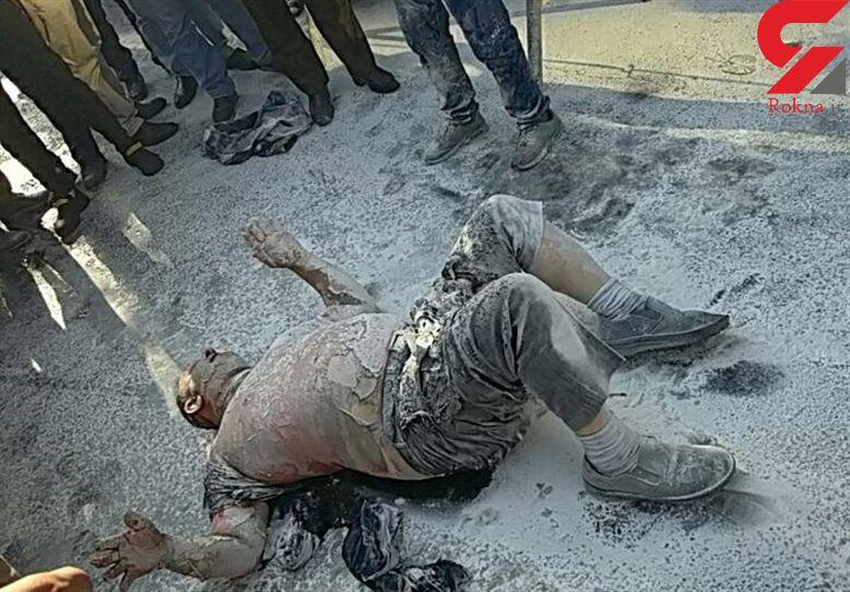 خبرمرگ مردی که در برابر شهرداری خود سوزی کرد بود تکذیب شد