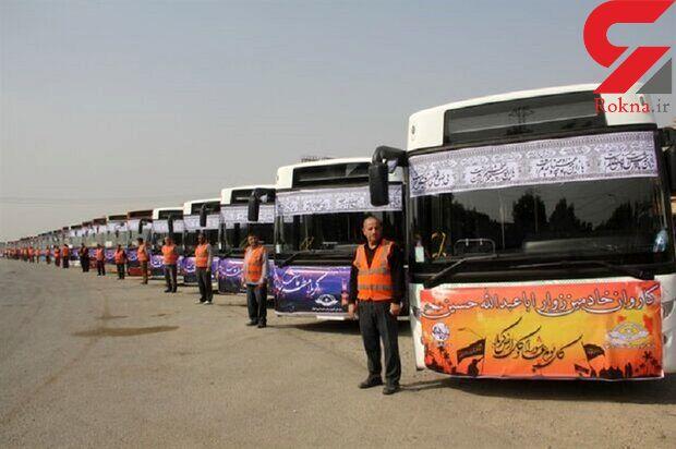 اتوبوسرانی کشور برای جابهجایی زائران اربعین بسیج شدهاند