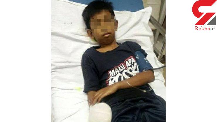 ناله های دلخراش زینب 40 ساله پس از دیدن وضعیت پسر 13 ساله اش+ عکس