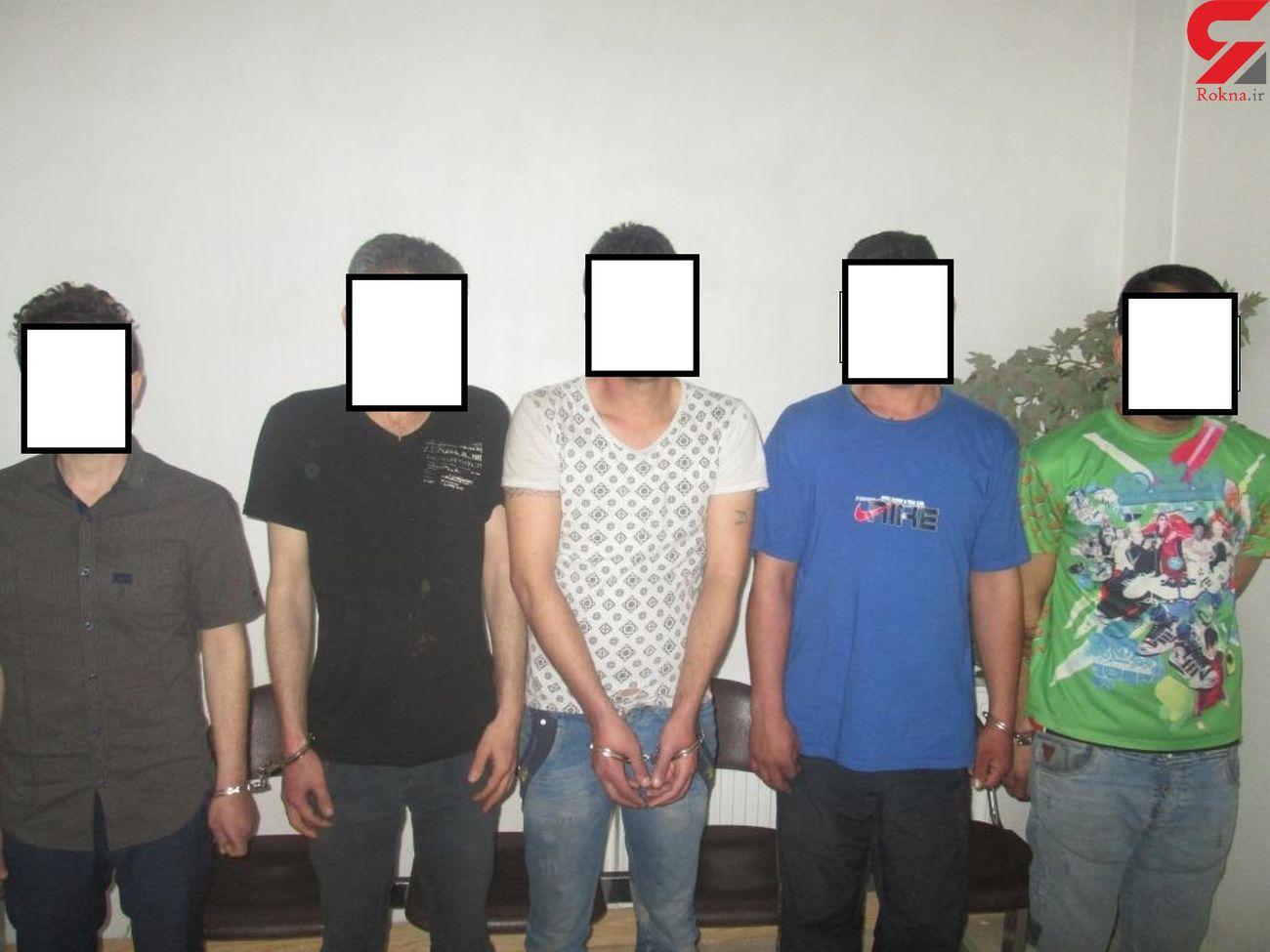 باند 6 نفره گنج یاب در کرمانشاه متلاشی شد