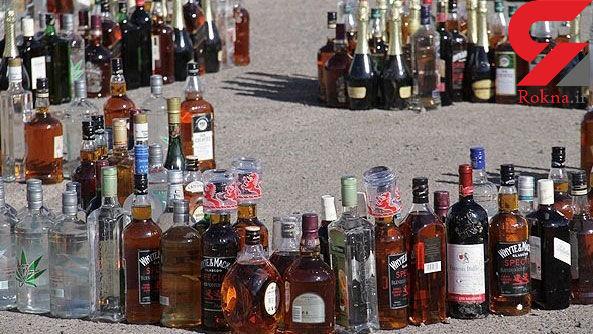 انهدام یک کارگاه تولید مشروبات الکلی در پارس آباد