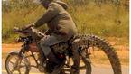 عجیب ترین باربری های دنیا با موتورسیکلت+تصاویر